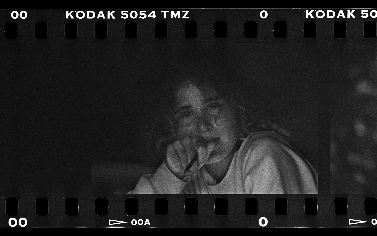 portrait dated back in 1990. Film Tmax 3200.